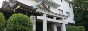 平田神社正面付近